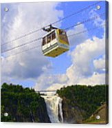 Montmorency Falls And Gondola Acrylic Print