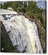 Montmorency Falls Park Quebec City Canada Acrylic Print