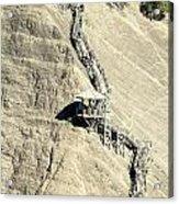 Montmorency Falls Stairway Acrylic Print