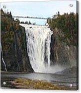 Montmorency Waterfall - Canada Acrylic Print