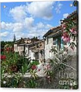 French Hilltop Terraces Acrylic Print by France  Art