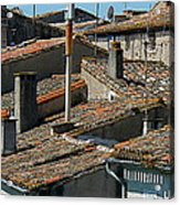 Tile Rooftops Of France Acrylic Print