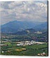 Montorfano. A View To Lake Iseo Acrylic Print