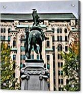Montreal Boer War Memorial Acrylic Print