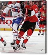 Montreal Canadiens V Ottawa Senators - Acrylic Print