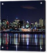 Montreal Night Acrylic Print