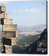 Montserrat Spain Acrylic Print