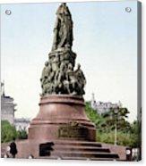 Monument Catherine II Acrylic Print