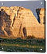 Monument Rocks Panorama Acrylic Print