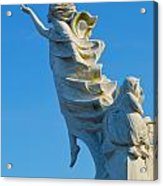 Monument To The Immigrants Statue 1 Acrylic Print