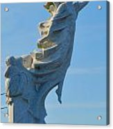 Monument To The Immigrants Statue 4 Acrylic Print