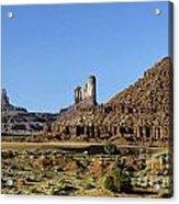 Monument Valley Arizona State Usa Acrylic Print
