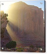 Monument Valley At Sunset 2 Acrylic Print