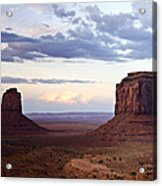 Monument Valley At Sunset Acrylic Print