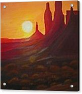 Monument Valley  Acrylic Print