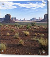 Monument Valley From North Window Acrylic Print