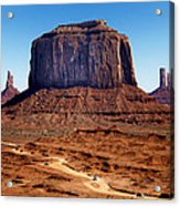 Monument Valley Mitten Acrylic Print