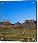 Monument Valley Road Acrylic Print