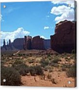 Monument Valley Scenic View Acrylic Print