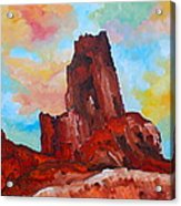 Monument Valley Standing Tall Acrylic Print