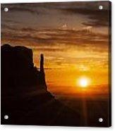 Monument Valley Sunrise Acrylic Print