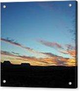 Monument Valley Sunset 2 Acrylic Print