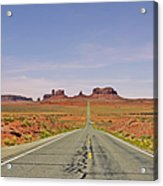 Monument Valley - The Classic View Acrylic Print