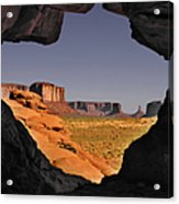 Monument Valley - The Untamed West Acrylic Print