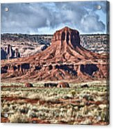 Monument Valley Ut 7 Acrylic Print