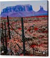 Monument Valley -utah V13 Acrylic Print