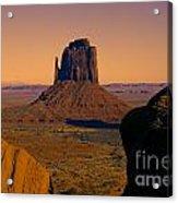 Monument Valley -utah V15 Acrylic Print
