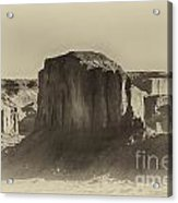 Monument Valley -utah V16 Acrylic Print