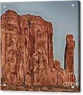 Monument Valley -utah V18 Acrylic Print
