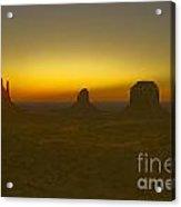 Monument Valley -utah V4 Acrylic Print