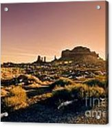 Monument Valley -utah V7 Acrylic Print