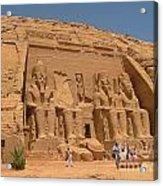 Monumental Abu Simbel Acrylic Print