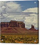 Monumental Clouds  Acrylic Print