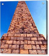 Monumental Heights Acrylic Print