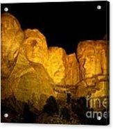 Monumental Night Shot Acrylic Print