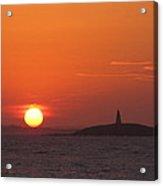 Monumental Sunset Acrylic Print