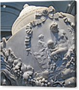 Monumental Urn -- By Clodion? Acrylic Print