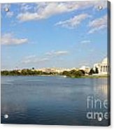 Monumental View From The River Acrylic Print