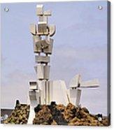 Monumento Al Campesino On Lanzarote Acrylic Print