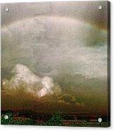 Moody Rainbow Panorama Acrylic Print
