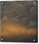 Moody Storm Sky Over Lake Ontario In Toronto Acrylic Print
