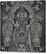 Mookambika Devi Acrylic Print