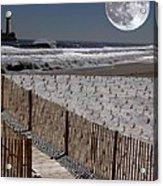 Moon Bay Acrylic Print