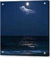 Moon Cloud Acrylic Print