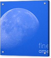 Moon Craters Acrylic Print