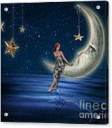 Moon Goddess Acrylic Print by Juli Scalzi